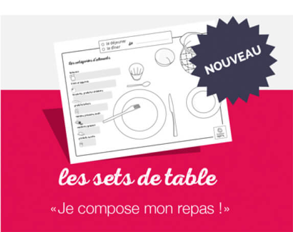 set table composer repas